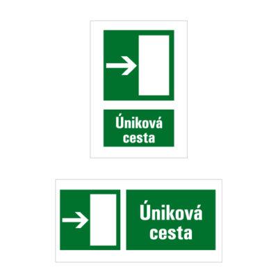 E 004 Úniková cesta/Únikový východ