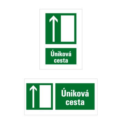 E 005 Úniková cesta/Únikový východ