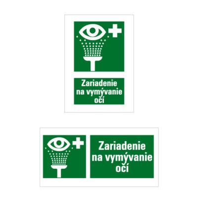 E 009 Vymývanie očí