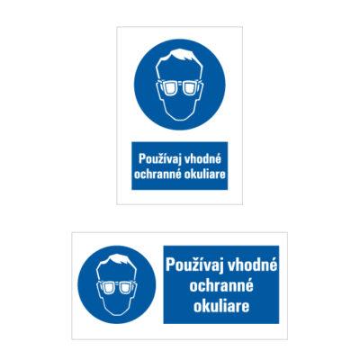 M 001 Príkaz na ochranu zraku