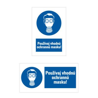 M 004 Príkaz na ochranu dýchacích orgánov