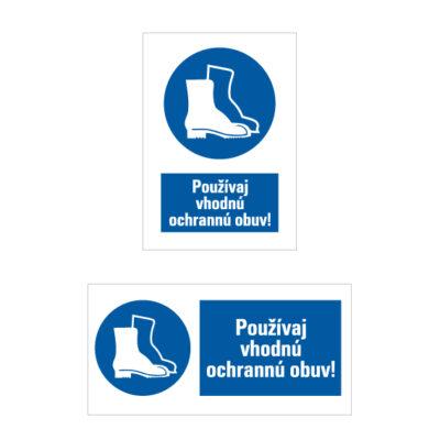 M 005 Príkaz na ochranu nôh