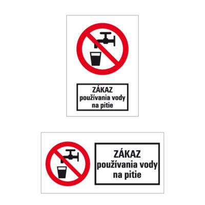 P 005 Zákaz pitia