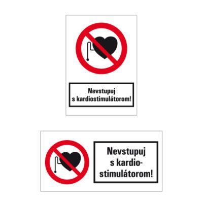 P 011 Zákaz vstupu osobám s kardiostimulátorom