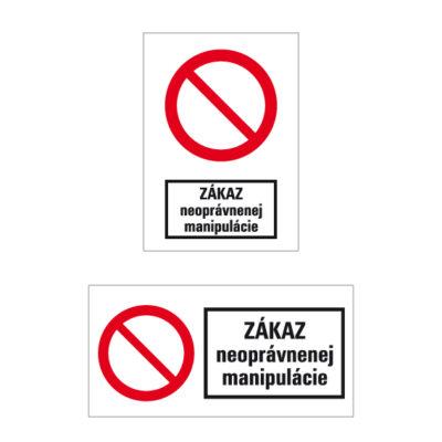 P 021 Zákaz