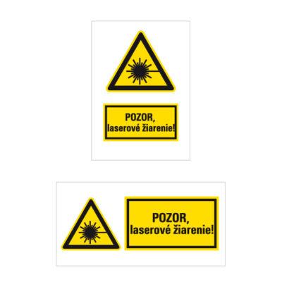 W 010 Nebezpečenstvo laserového lúča